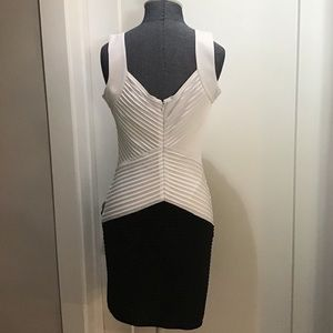 Dresses & Skirts - Calvin Klein Black & White Bandage Dress